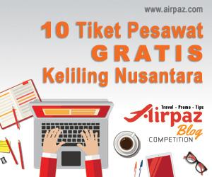 Tiket Gratis Airpaz Keliling Nusantara
